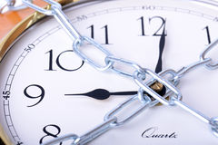 Chained time Stock Photo