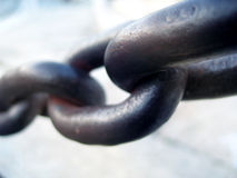 Chained zone Royalty Free Stock Photo