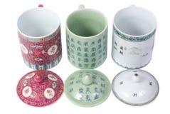 chainese чай чашек Стоковое Фото