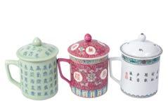 chainese чай чашек Стоковые Фото