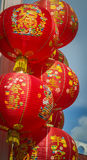 Chainese lanterns, chainese new year Stock Photography