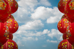 Chainese lanterns, chainese new year Royalty Free Stock Photos