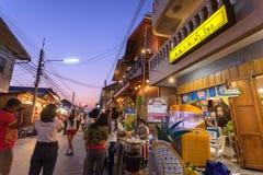 Chaing Khan, Loei, Таиланд Стоковое Фото