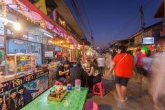 Chaing Khan, Loei, Таиланд Стоковые Фотографии RF