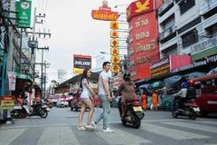 Chaing Mai市场 库存图片