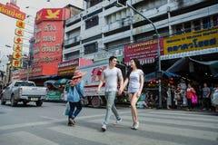 Chaing Mai市场 免版税库存照片