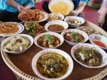 chaing mai泰国食物  免版税库存图片