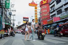 Chaing Mai Market Arkivbilder