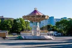 Chaing Schwingenfahrt des Volksfestivals - Bayreuth Lizenzfreie Stockfotografie