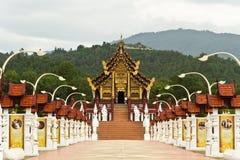 Chaingmai Tailandia del royalraiapruek del luang del kam de Hor Imagen de archivo