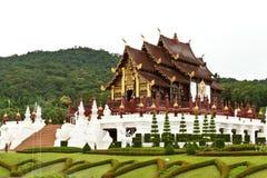 Chaingmai Tailandia del royalraiapruek del luang del kam de Hor Imagen de archivo libre de regalías