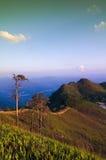 Chaingrai das montanhas Foto de Stock Royalty Free