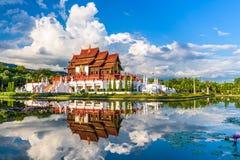Chaingsmai, het Paviljoen van Thailand royalty-vrije stock afbeelding