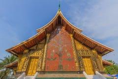 Chaingtong del wat del tempio del fondo della pagoda Fotografie Stock