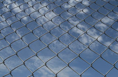 Chainlin Fence Stock Photo