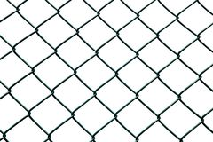chainlink φραγή Στοκ φωτογραφία με δικαίωμα ελεύθερης χρήσης