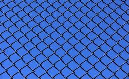 Chainlink et ciel images stock