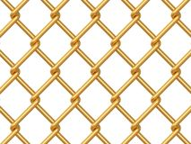 Chainlink fence Royalty Free Stock Photos