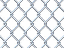 Chainlink fence Royalty Free Stock Photography