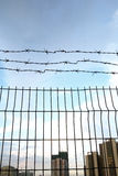 Chainlink fence Stock Image