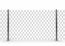 Chainlink fence Stock Images
