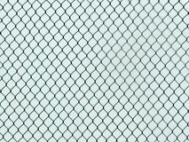 Chainlink Fence Industrial Texture, creates an optical illusion. Makes an interesting and artistic background image stock photos