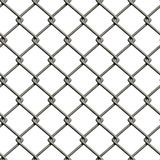 Chainlink fence (Seamless texture) Royalty Free Stock Photography