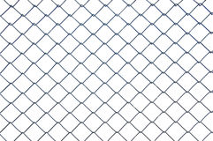 Chainlink metal wire fence Royalty Free Stock Photos