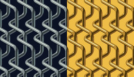 Chainlink pattern Royalty Free Stock Images