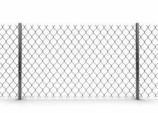 Chainlink staket Arkivbilder