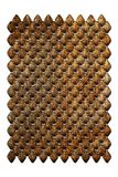Chainmail of metal plates Stock Images