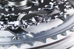 Chainrings Immagini Stock
