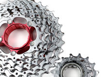 Chainrings set Stock Photo