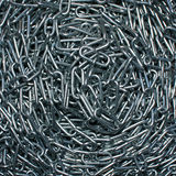Chains. Pile of steel chains for background and wallpaper royalty free stock photography