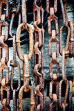 Chains background Royalty Free Stock Image