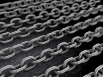 Chains background Royalty Free Stock Photography