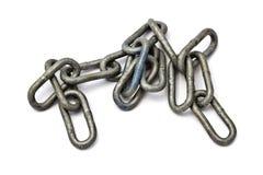 Chains closeup Royalty Free Stock Photo