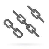 Chains icon Stock Photos