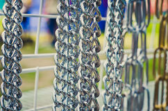 Chains outdoors Stock Images