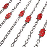 Chains paragraph Stock Photography