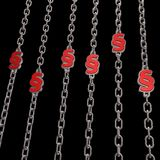 Chains paragraph Royalty Free Stock Photography