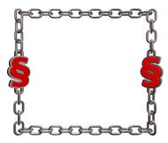 Chains paragraph Stock Photo
