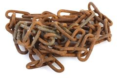 Chains-rusted Stock Photo