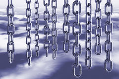 Chains in sky Stock Photo