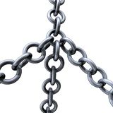 Chains steel Royalty Free Stock Images