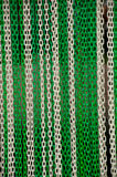 Chains texture . Royalty Free Stock Photo