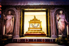 Chains in which was chained St. Peter are kept in the church of San Pietro in Vincoli in Rome Royalty Free Stock Images