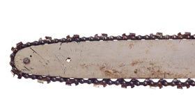 chainsaw лезвия Стоковая Фотография