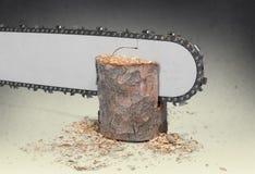 chainsaw Foto de archivo