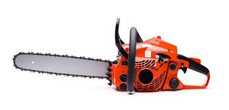 chainsaw Royaltyfri Bild